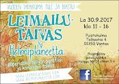 Leimailutaivas ja Helmiplaneetta® Hiekkaharjussa, Vantaalla 30.9.2017