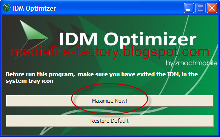 Maximize Internet Download Manager Speed