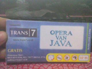 Tiket OVJ Trans7