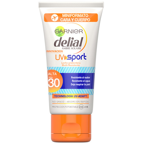 leche protectora Delial UV Sport FPS30 Garnier