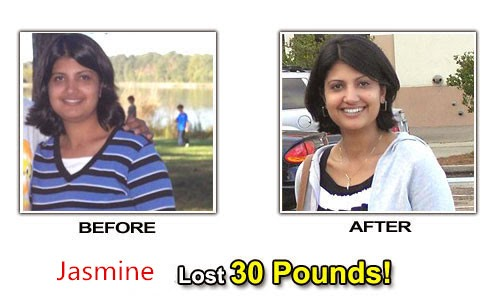 Jasmine Li use Lingzhi 2 Day Diet Pills lose weight succeed