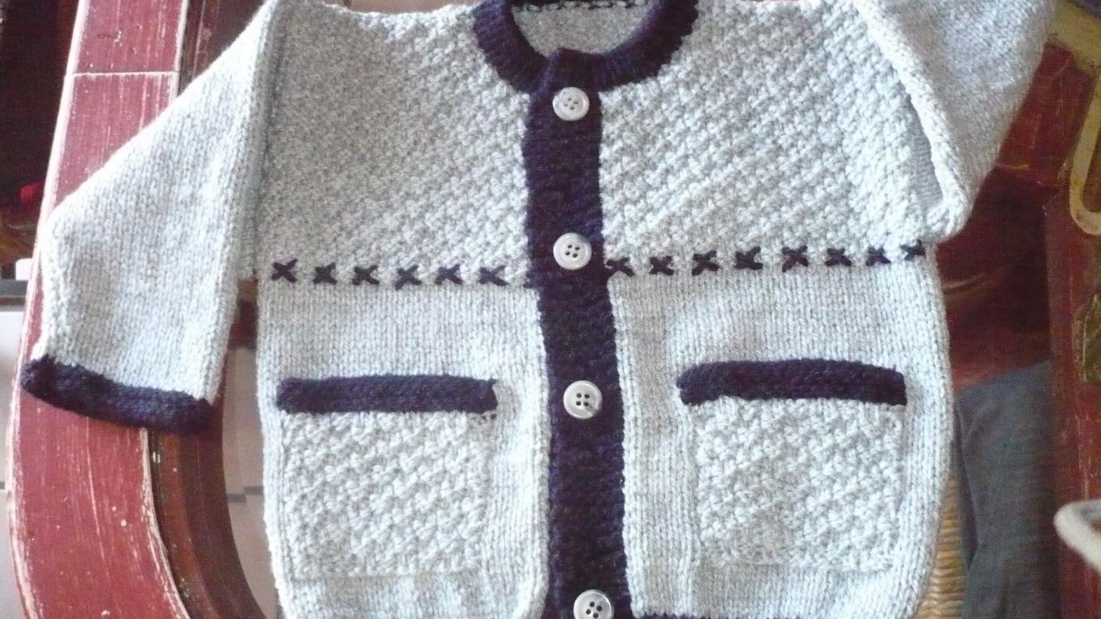 Dtejidodetalles su ter para bebe 6 9 meses - Bolsa para guardar agujas de tejer ...