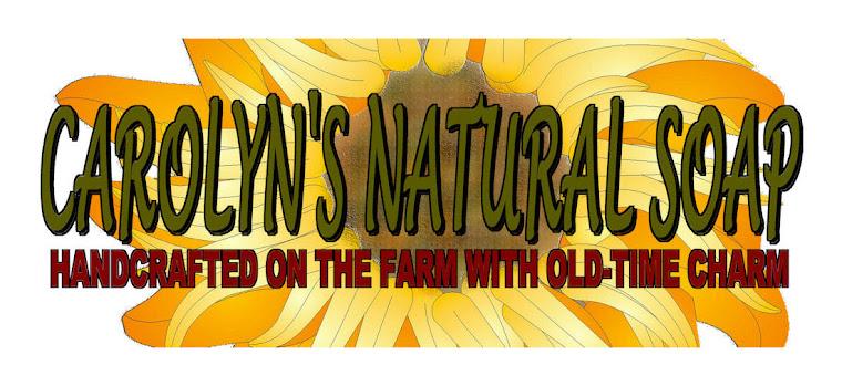 Carolyn's Natural Soap Blog