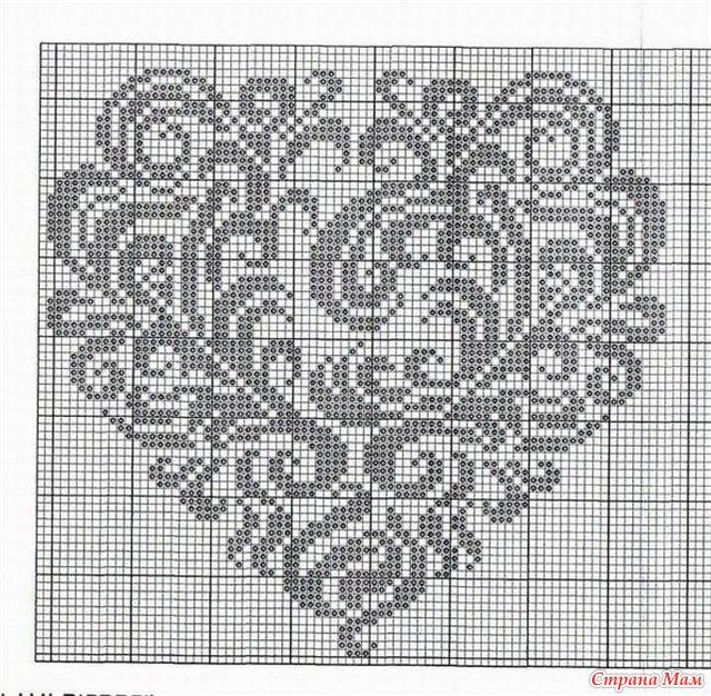 Схемы для вышивки крестом меланжевыми нитками 100