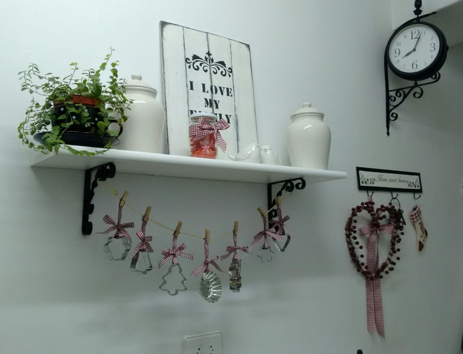 Dorcas ana manualidades decoraci n navide a en la cocina - Ana en la cocina ...