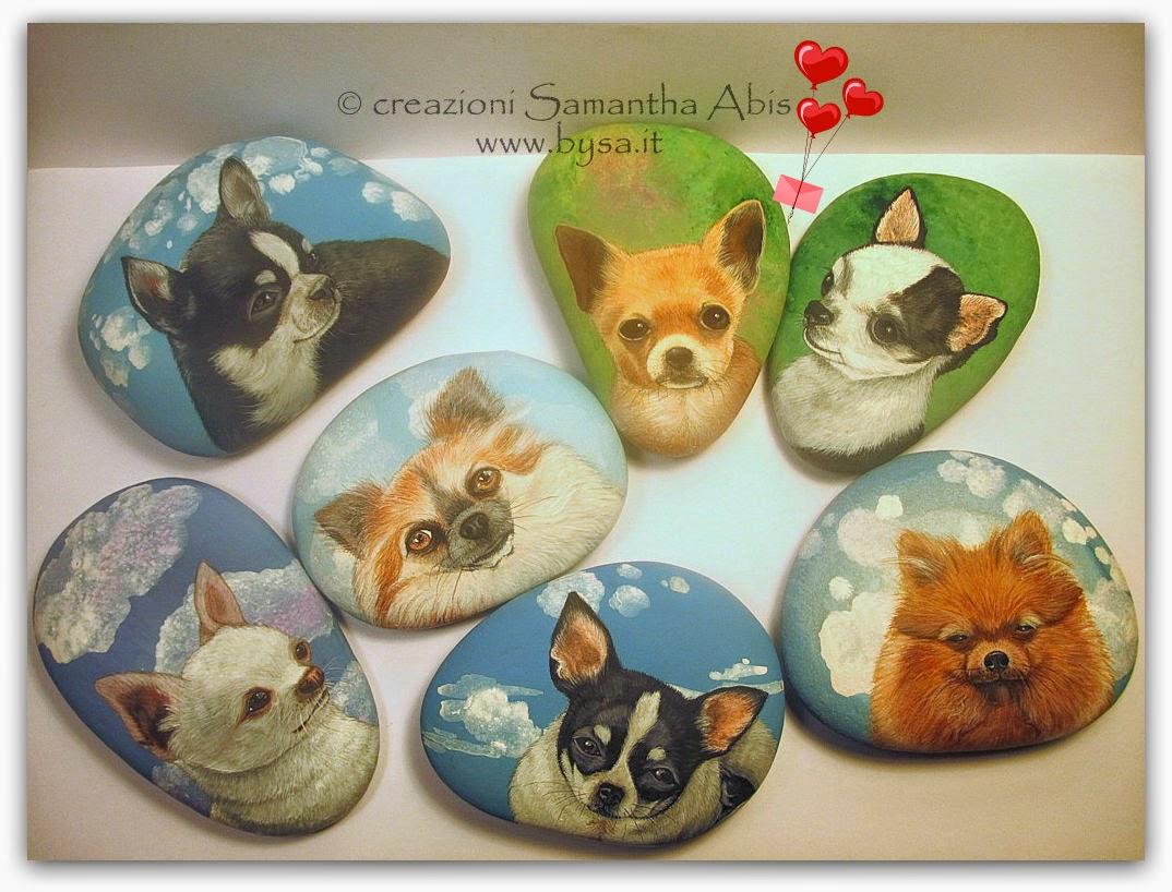 Ritratti di animali bysa: ritratti di animali: 7 cani dipinti, su ...