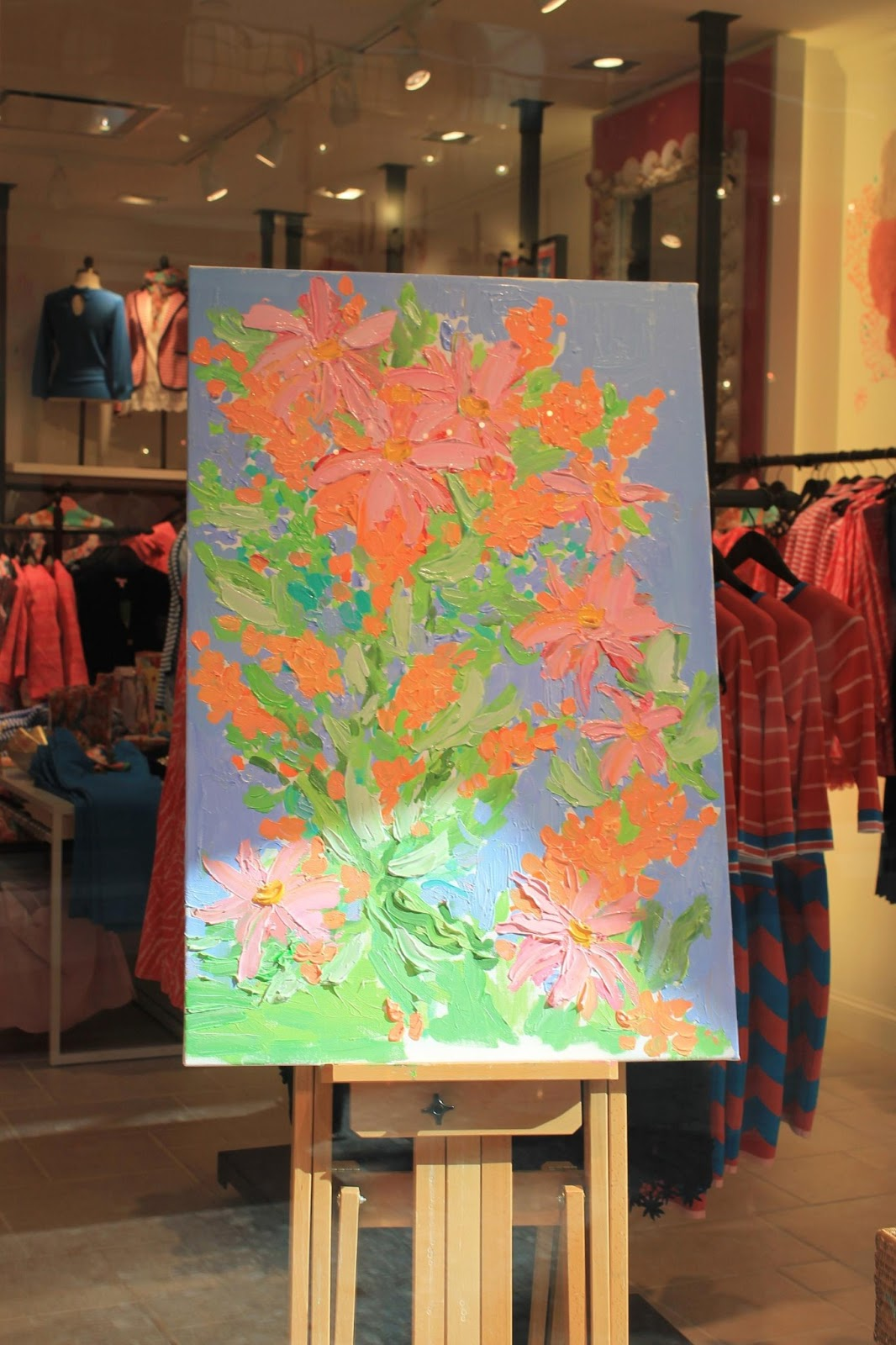 Lilly Pulitzer Art Paintings