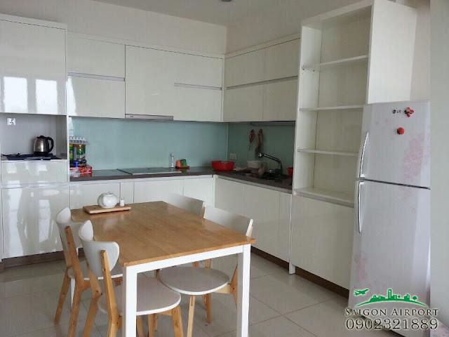Giá bán căn hộ Saigon Airport Plaza | phòng bếp