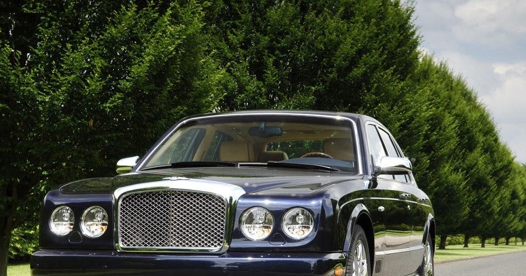 Bentley Arnage Blue Train Series 2005 Auto Cars Concept