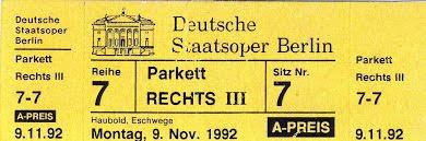 Στην φημισμένη Όπερα του Βερολίνου (στην Under den Linden)