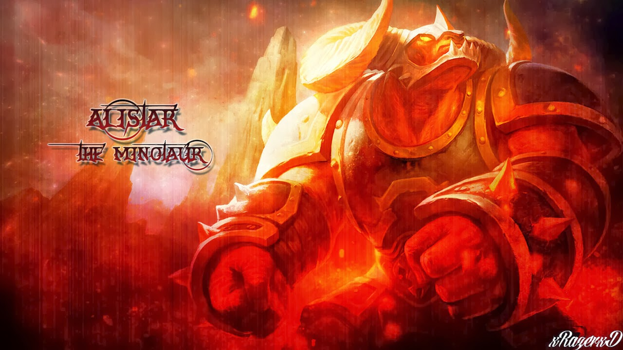 League of Legends Champions - Alistar - LOL Wallpaper