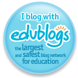 I'm on Edublogs