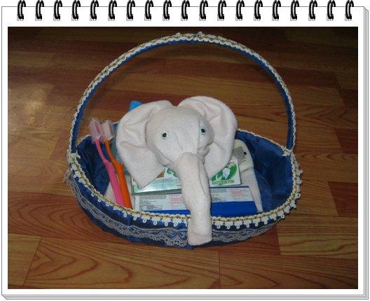 Tutorial Menghias Hantaran Handuk Menjadi Bentuk Kepala Gajah - Ladies