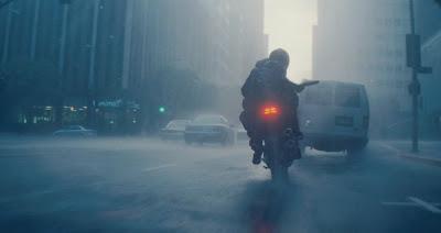 Action scene in heavy rain in the movie Inception