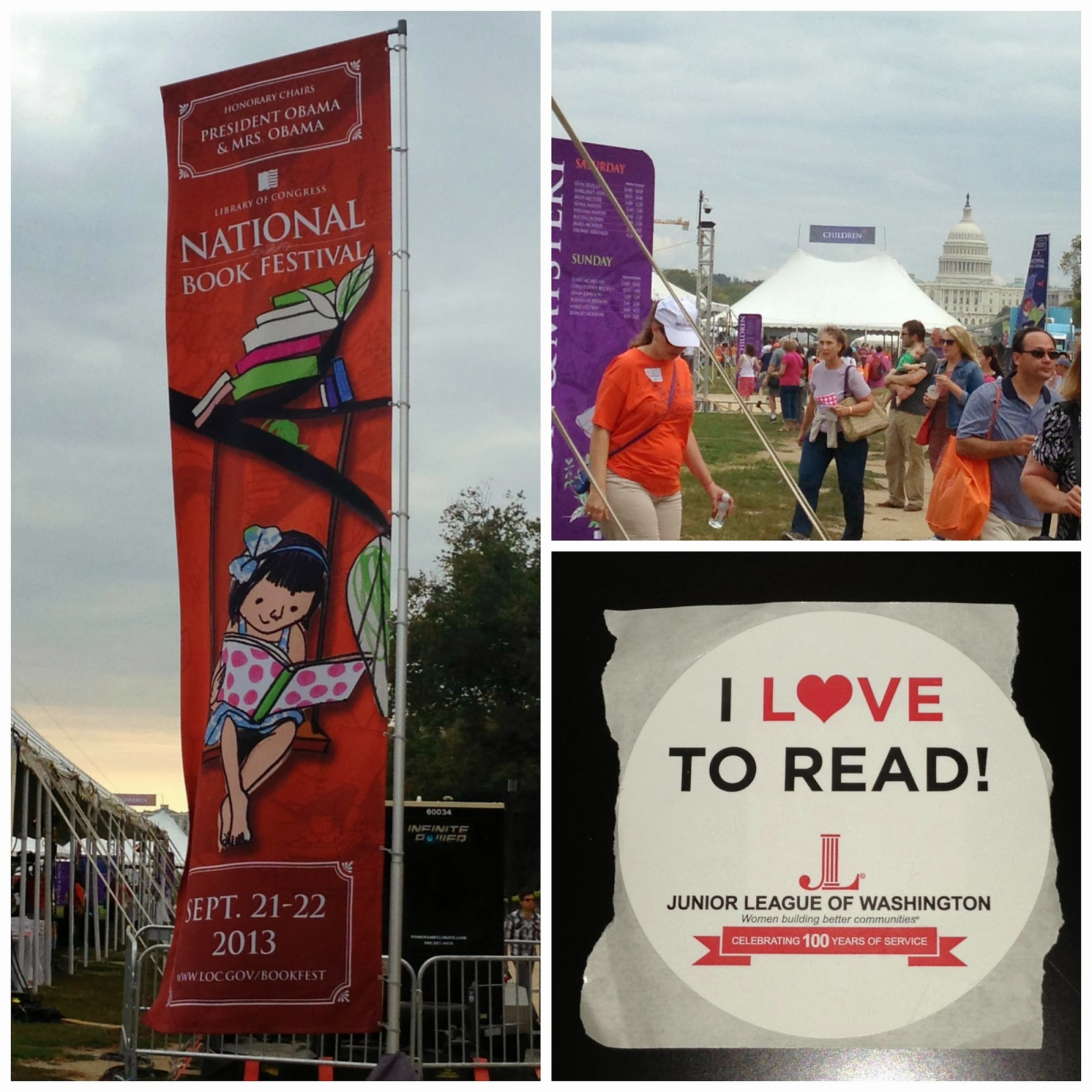 Creating a Beautiful Life:  National Book Festival