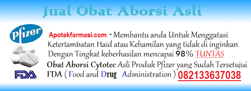 Obat Cytotec Asli Pfizer Di Apotik