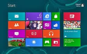 Windows 8 Startscreen