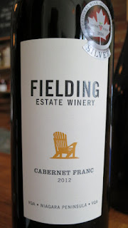 Fielding Cabernet Franc 2012 - VQA Niagara Peninsula, Ontario, Canada (89 pts)