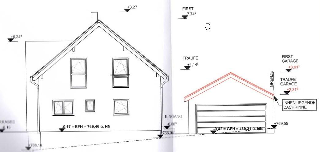 unser traum vom haus mit dan wood unsere garage. Black Bedroom Furniture Sets. Home Design Ideas