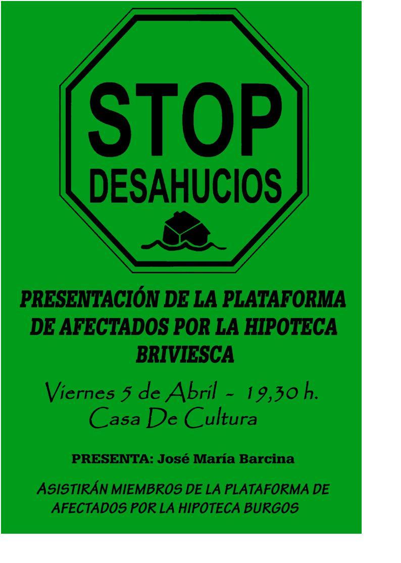 Acto Público en Briviesca - PAH