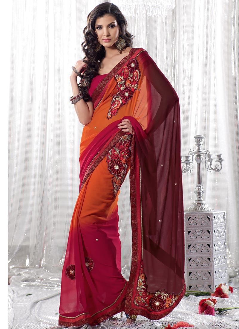 Beautiful Hina Khan Saree