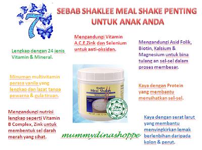 Shaklee Meal Shake Membantu Masalah Anak Kurang Selera Makan