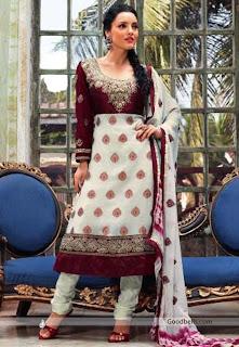 Elegant Shalwar Kameez Neck Design