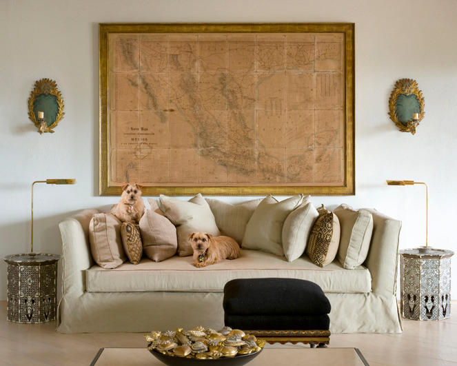 Trading Seasons: Decorating with Maps