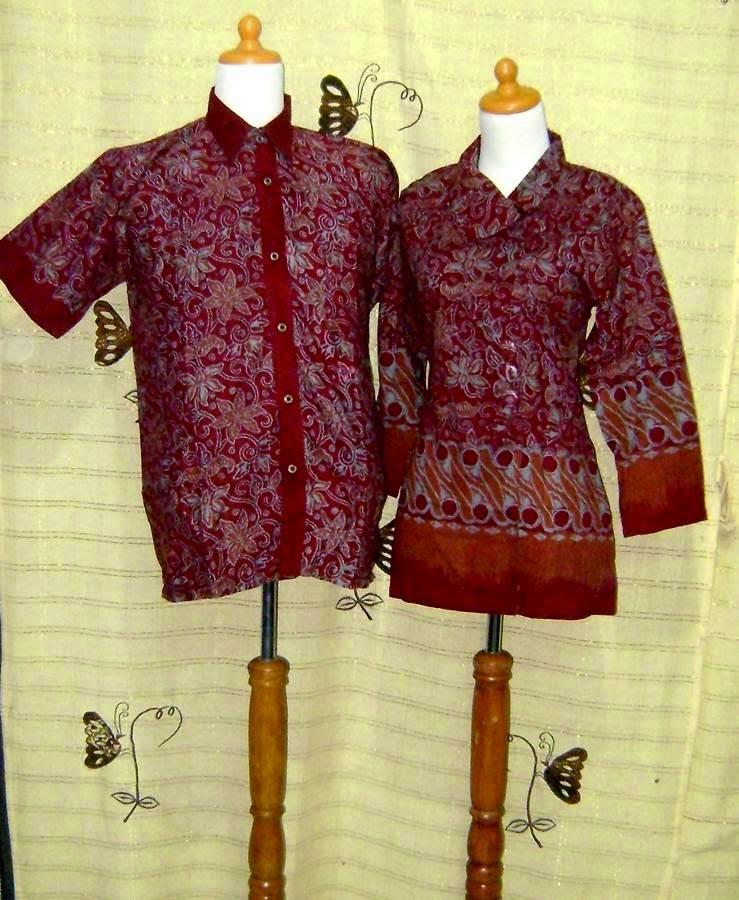 Foto Baju Batik Pasangan