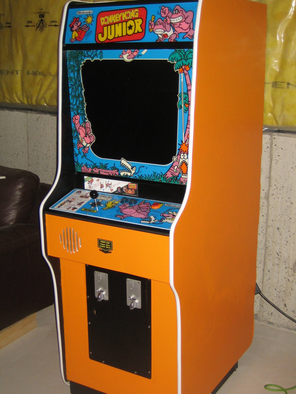 My Mission To Mame Donkey Kong Jr Mame Cabinet