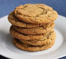 Chewy Brown Sugar Ginger Cookies