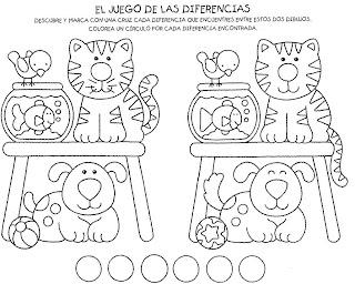 Educaci n preescolar y especial ejercicios que ayudan a for Actividades para jardin de infantes para imprimir
