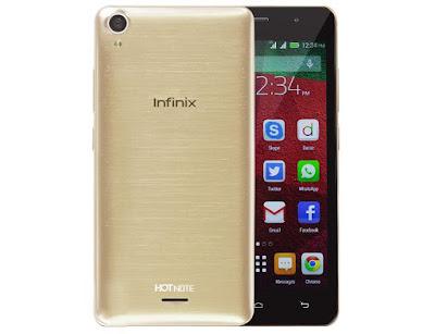 Harga dan Spesifikasi Infinix Hot Note Terbaru