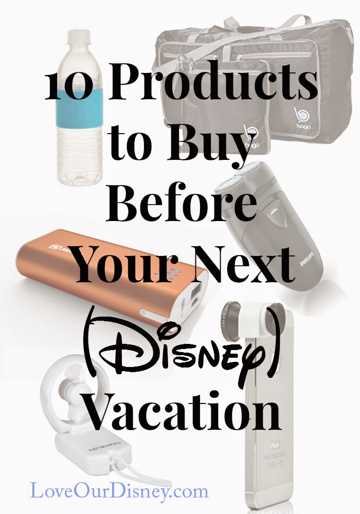10 products to buy for Disney that are not on most packing lists