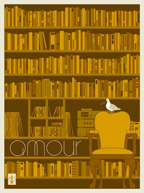 poster: Amour - design de Matt Owen