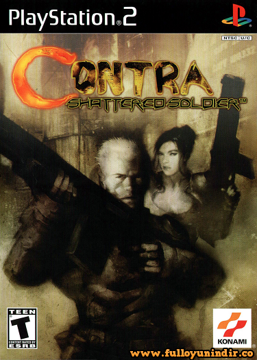Contra-Shattered Soldier (PLAYSTATION 2)