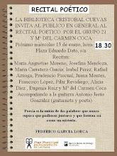 LECTURA POÉTICA. GRUPO 21
