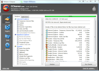Download CCleaner 5.09.5343 For PC Full Version