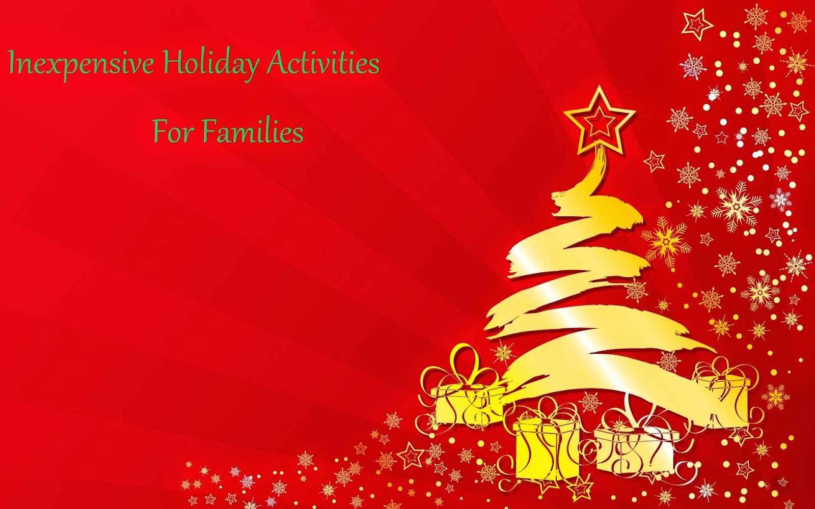 Inexpensive Holiday Activities for Families
