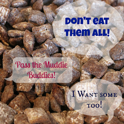 Muddie Buddies Recipe