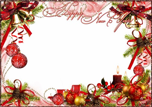 new year frame | png frame