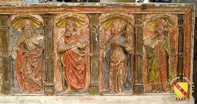 Nancy - Musée Lorrain : Retable de Rigny-Saint-Martin