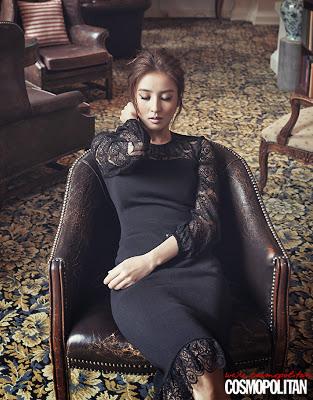 Han Hye Jin - Cosmopolitan Magazine October Issue 2013