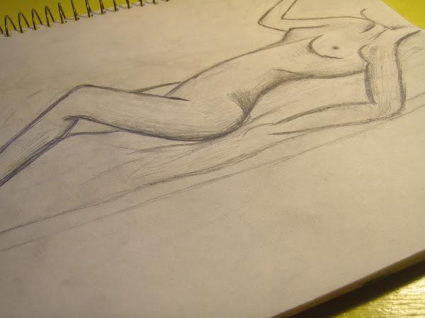 Sketching...eek!