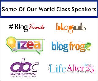 Blog Workshop Speakers
