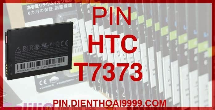 Pin điện thoại HTC T7373 EVO 4G Snap Dash 3G dung lượng cao Pin HTC T7373 - Pin Galilio HTC T7373 dung lượng cao 2000 mAh - Giá 220k - Bảo hành: 6 tháng  - Pin tương thích với điện thoại HTC A8188/ A9199/ A9292/ Pin HTC TOUCH PRO2/ Pin HTC Snap S521/ T7373/ T8388/ T9199/ EVO 4G/ EVO Shift 4G/ Pin HTC Snap/Pin HTC Imagio/ Pin HTC Droid Incredible/Pin HTC Hero 200/ XV6875/ XV6975/ Arrive/ Dash 3G (Pin HTC Maple 100)  Thông số kĩ thuật: - Pin HTC T7373 dung lượng cao 2000 mAh được thiết kế kiểu dáng và kích thước y như pin nguyên bản theo máy, Pin tiêu chuẩn, chất lượng như pin theo máy. - Kích thước:  - Dung lượng: 2000mAh - Điện thế: 3.7V - Công nghệ: Pin Li-ion Battery  Mô tả sản phẩm: - Pin Galilio nhờ nghiên cứu và phát triển công nghệ lithium nên đã đạt được pin dung lượng cao nhất cho phép (từ 1,5- 2 lần) nhưng vẫn đảm bảo được chất lượng cao, đã vượt qua nhiều tiêu chuẩn chất lượng như ISO 9001, ISO 1400I, CERTIFICATED, hãng cũng ứng dụng Công Nghệ an toàn mà những hãng pin khác không có được: Controller IC, Control swithches, Temperature Fuse.. - Thiết kế kiểu dáng và kích thước y như pin nguyên bản theo máy, thuận tiện và dễ dàng thao tác, pin dung lượng cao cung cấp đủ nguồn điện cho máy sử dụng được trong thời gian dài, có thể mang đi bất cứ đâu để phòng khi pin của máy bạn hết mà không có điều kiện để sạc. - Cho phép bạn giữ các cuộc nói chuyện và bảo đảm cho bạn không bỏ lỡ các cuộc gọi điện thoại quan trọng - Pin sạc bằng cách gắn vào điện thoại và sạc như pin gốc - Sản phẩm đạt tiêu chuẩn tuyệt đối về an toàn cháy nổ - Bảo hành đổi pin mới trong 6 tháng.  GIAO HÀNG VÀ BẢO HÀNH TẬN NHÀ  Quý khách có nhu cầu mua pin,  hãy liên hệ với chúng tôi:  - Khu vực Ba Đình: 0904.691.851 - Khu vực Từ Liêm: 0976.997.907  Website: http://pin.dienthoai9999.com Mua số lượng lớn: 0942299241  - Hướng dẫn sử dụng, bảo quản pin: http://pin.dienthoai9999.com/huong-dan-su-dung-pin - Quy định bảo hành: http://pin.dienthoai9999.com/quy-dinh-bao-hanh-pin - Khách hàng góp ý: http