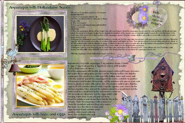 My recipe Asparagus