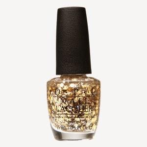 Esmalte glitter OPI - cor: I reached my gold