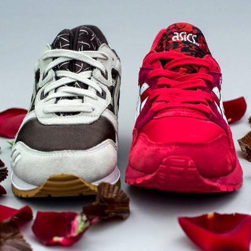 Asics Tiger Valentine pack zapatillas Día de los Enamorados