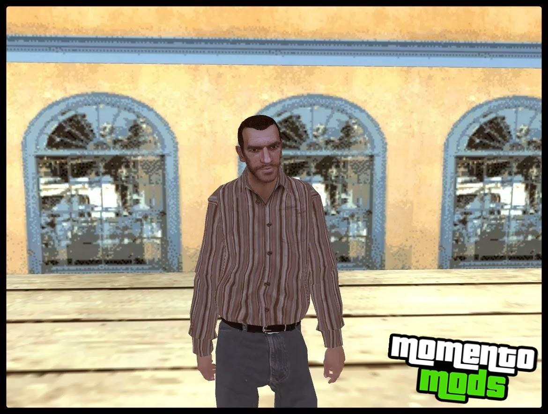 GTA SA - Skin Do Niko Bellic Do GTA IV